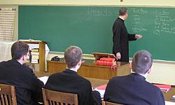 Fr. Cekada Teaching Class